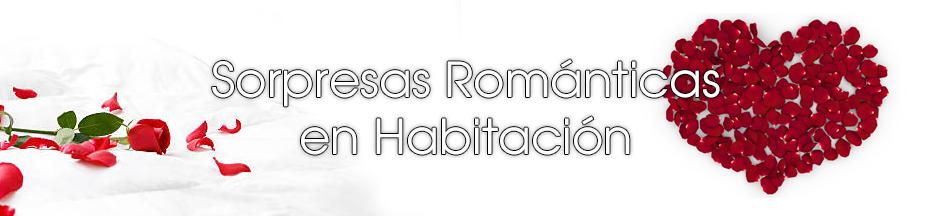 sorpresas romanticas para citas en habitaciones