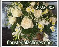 campana de flores para bodas