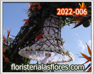 campanas de flores para bodas