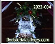 campana para bodas con flores en guatemala