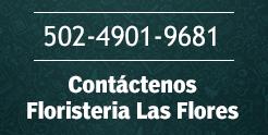 Contacto de Floristeria Las Flores en Guatemala, ciudad capital