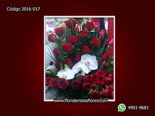 Rosas con Orquídeas - Servicio de Flores - Envío de flores en Guatemala