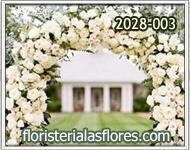 arcos de flores para bodas