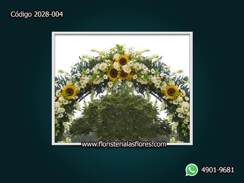 Arcos Florales para eventos especiales