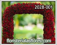 arcos de flores para empresas