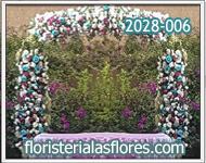 arcos florales para fiestas de 15