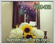 girasoles con globos para cumpleaños