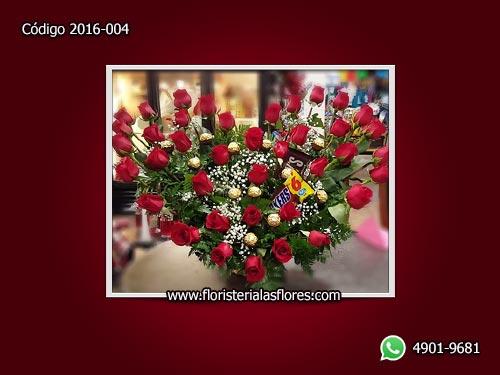 arreglos de rosas con chocolates