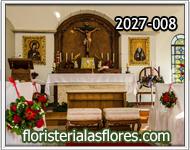 decoracion de altar en iglesias