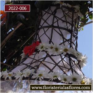 campanas de flores en guatemala para bodas