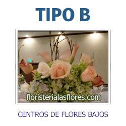 centros de flores bajos