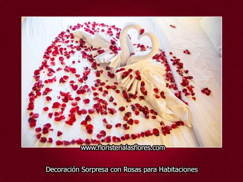 decoraciones con rosas para sorprender a persona especial por floristeria las flores