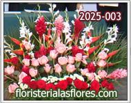 decoración con flores para eventos
