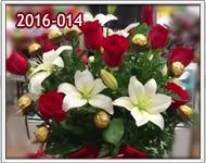 envio de floreros con rosas en guatemala