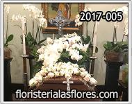 orquideas para ataúd