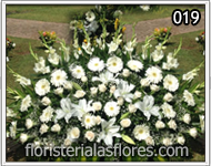 flores para enviar a funeral
