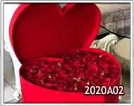 rosas dentro de un corazon envio de flores en guatemala a domicilio