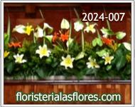 jardineras de flores para escenarios