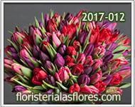 Ramos grandes de tulipanes para cumpleaños
