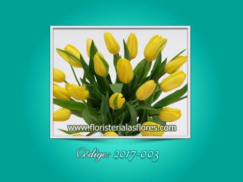 Arreglos con tulipanes para ocasiones especiales