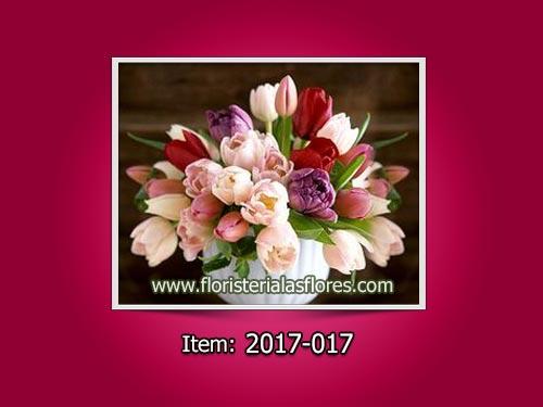 Envió de tulipanes a domicilio para damas