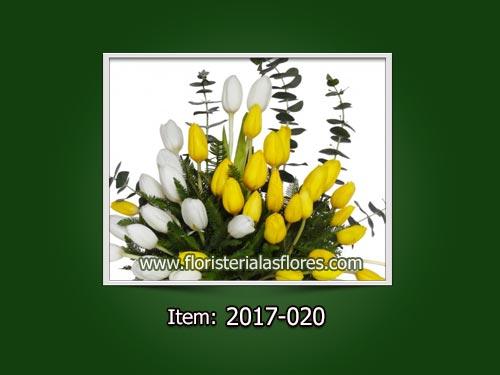 Venta de Arreglos con tulipanes