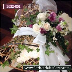 campanas florales para bodas en guatemala